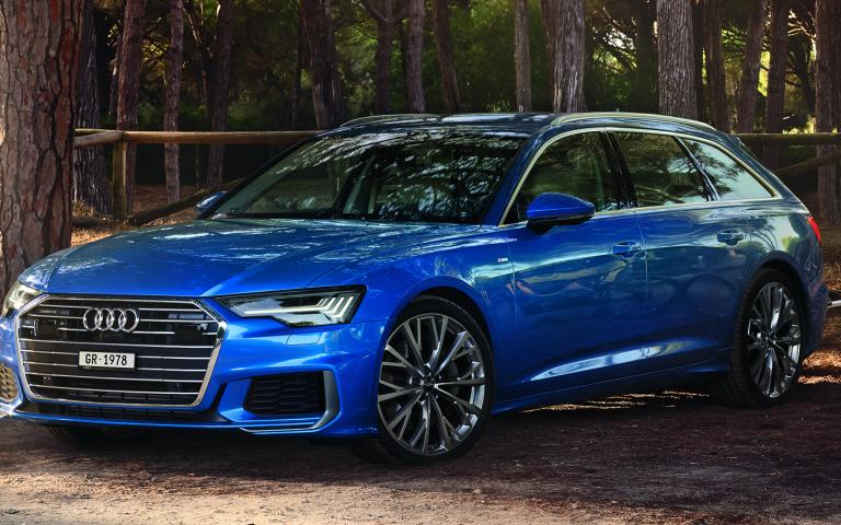 Der Audi A6 Avant 40 TDI Attraction S tronic quattro
